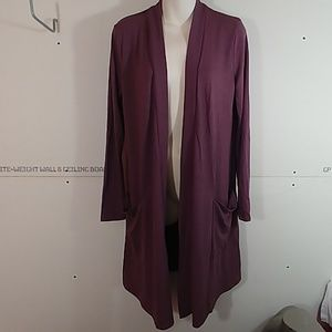 Womans Long Cardigan with Pockets